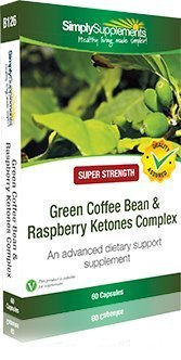 Green Coffee Bean & Raspberry Ketones Complex|100% Pure & Highly Concentrated |60 Capsules from Simply Supplements