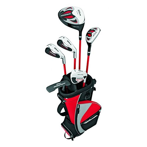 Wilson ProStaf Set de golf Junior 4 Droitier Bleu