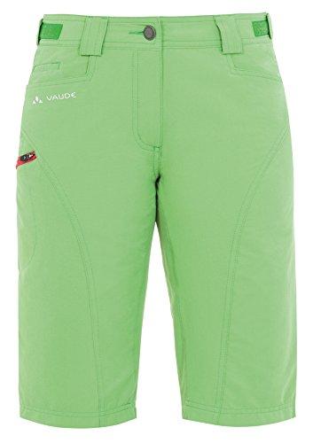 Vaude Rokua Bermuda II Pantalon Pour femme Vert sauterelle