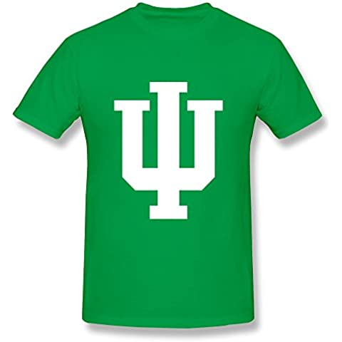 Men's T-shirt Indiana University Bloomington Black XXXX-L