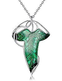 Collar / de la broche de Elven El Señor de los Anillos broche de la hoja Lothlórien Lorien