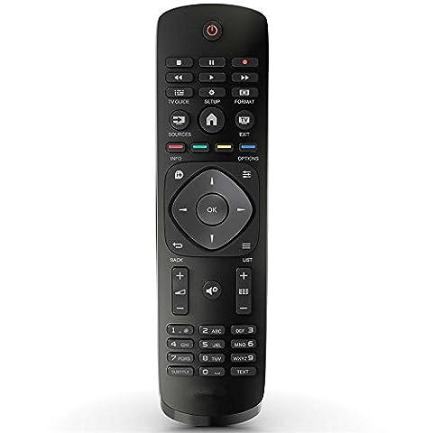 Télécommande pour Philips Téléviseur LED UHD 43puh4900/8843puk4900/1243PUT4900/1249puh4900/8849puk4900/1249PUT4900/1255puh4900/88