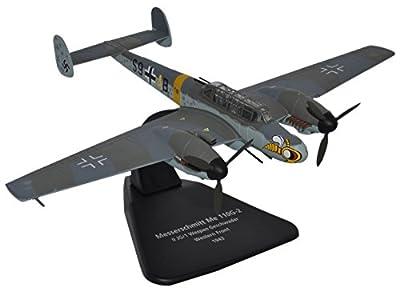 Herpa 81AC051S - Me 110G JG/1 Wespen Geschwader 1943, Flugzeug von Oxford