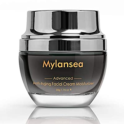 Mylansea Anti Aging Face Cream, Super Hydrating Facial Moisturizer with Hyaluronic Acid Collagen 50g