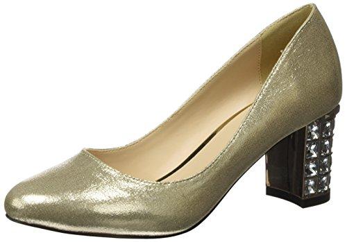 Menbur Damen Archid Plateaupumps Gold (oro)