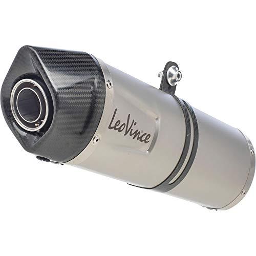 LeoVince Schalldämpfer SBK LV-One EVO II Carbon-Endkappe passend zu KTM Duke 125