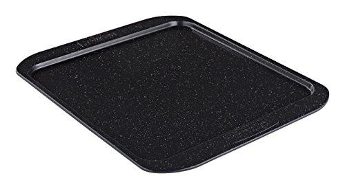 Prestige Stone Quartz 33 cm Square Oven Tray - Black