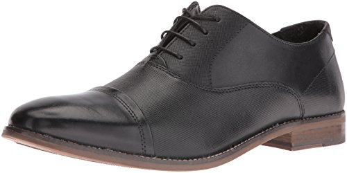 Steve Madden Men's Finnch Oxford, Black Leather, 11.5 M US - Steve Oxford Madden