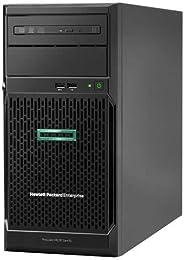 جهاز كمبيوتر اتش بي اندرويد ML30 G10 - معالج انتل زيون E2124، ذاكرة 8 جيجا، 2×1 تيرابايت 3.5 بوصة، مزود طاقة 3