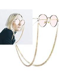 Cadenas y cordones de gafas para mujer | Amazon.es