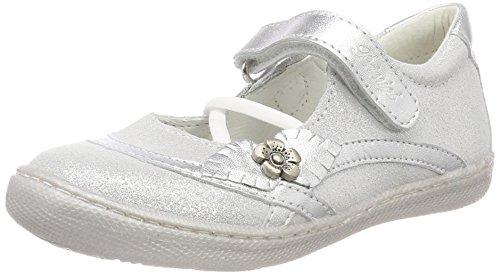 Primigi Mädchen PTF 14326 Sneaker, Silber (Argento/Argento 11), 30 EU