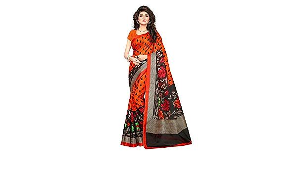 Indische Bollywood Hochzeit Saree indische ethnische Hochzeit Sari neue Kleid Damen l/ässig Tuch Geburtstag Ernte Top M/ädchen Frauen schlicht traditionelle Party Wear Readymade Kost/üm black