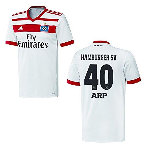 HSV HAMBURGER SV Trikot Home Herren 2018 - ARP 40, Größe:M