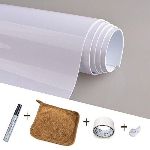 Magjump Whiteboard Aufkleber Dick Kreidetafeln Selbstklebende Tafel Kontakt Papier Wand Sticker Wandpapier für Schule, Büro, Haus(60cm x 90cm) (Spiel-raum-zeichen)