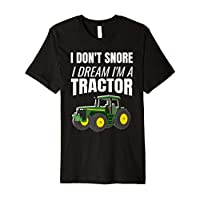Tractor Enthusiast Snorer Farming Shirt
