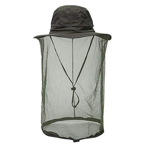 Special&Kind Sun Hut Outdoor Große Brim Beekeeper Moskito Net Hut Fischen Hut Eimer Hut mit Schleier Anti-Insekten Camping Kopf Netz Gesicht Maske Gesicht Schutz