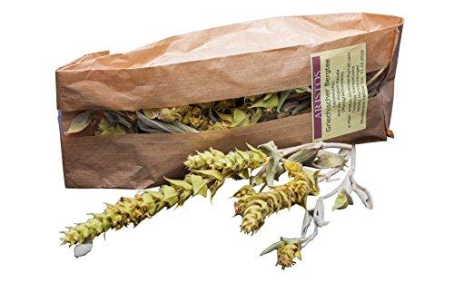 ARISTOS Griechischer Bergtee | Sideritis Scardica | Griechisches Eisenkraut | 100% Griechischer Kräutertee mit Stiel | Direkt vom Erzeuger | aus angebauter Wildsammlung |