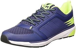 DFY Men's Muscle Navy/Lime Multisport Training Shoes-10 UK/India (44 EU)(DMF18G500106-43)