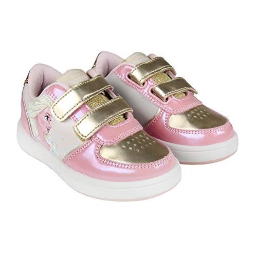 Cerdá Mädchen Frozen ELSA Sneakers, Pink (Rosa C07), 27 ()