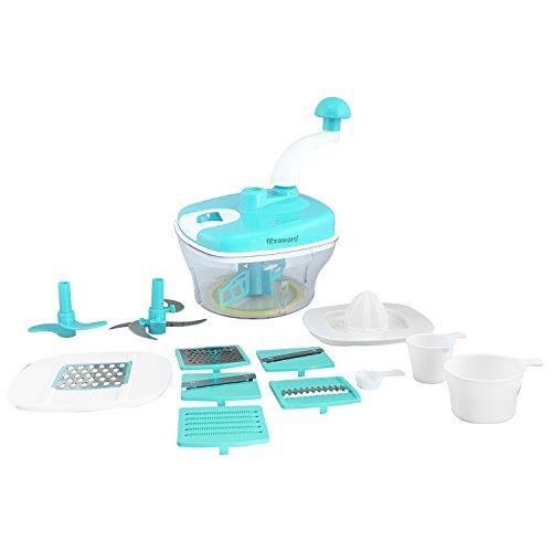 Floraware Advance Dual Speed Multi-Function Food Processor - Atta Kneader / Dough Maker / Juicer With Chop & Churn