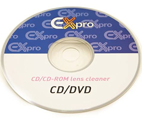 Ex-Pro® CD/DVD/CD-Rom Games Console - Lens Cleaner with Fluid.