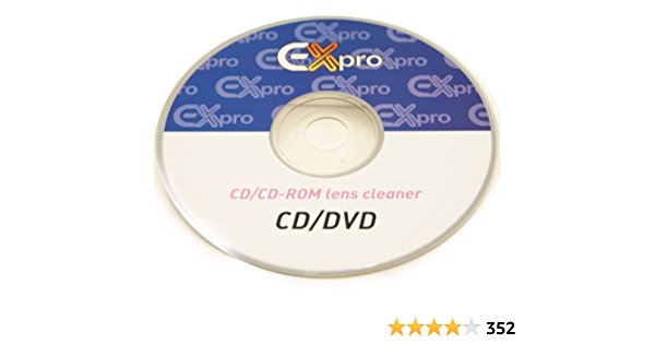 Ex Pro Linsenreiniger Disc Mit Flüssigkeit Für Cd Dvd Elektronik
