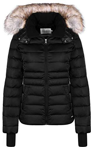 Calvin Klein Jeans Damen Winterjacke schwarz M -