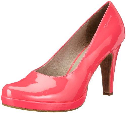 Tamaris 1-1-22426-20, Scarpe alte con plateau Donna Rosa (Pink (NEON PINK PAT. 520))