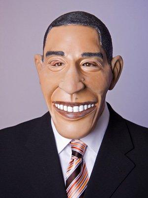 r US Präsident Politiker-Maske Haut Einheitsgröße ()