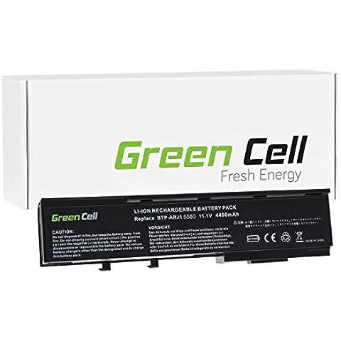 Green Cell® Standard Serie Batteria per Portatile Acer TravelMate 3300 (6 Pile 4400mAh 11.1V Nero)