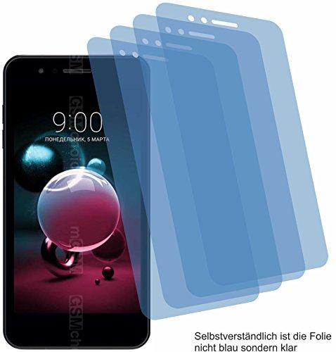 4x Crystal clear klar Schutzfolie für LG K9 Displayschutzfolie Bildschirmschutzfolie Schutzhülle Displayschutz Displayfolie Folie