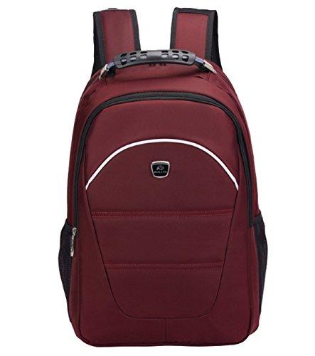 BULAGE Bag Stilvoll Elegant Einfach Unternehmen Mit Hohen Kapazität Schultern Computer Natur Reisen Wandern Studenten Gehen Camping Red