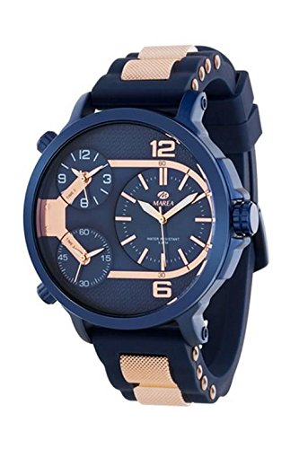 Marea Reloj Cronógrafo para Hombre con Correa de Silicona – B54088 6 58faf658ba23