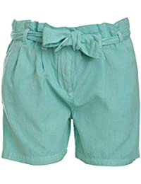 UFO Girls' Slim Fit Trousers (SS18-NDF-GKT-709_Green_8-9 YRS)