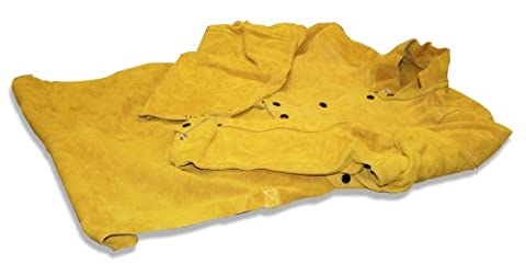 Us Forge 99415 Leather Welding Cape With 20-Inch Bib, (20 Bib)