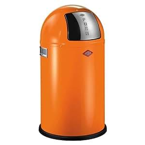 wesco pushboy junior 175 531 25 bin orange kitchen home. Black Bedroom Furniture Sets. Home Design Ideas