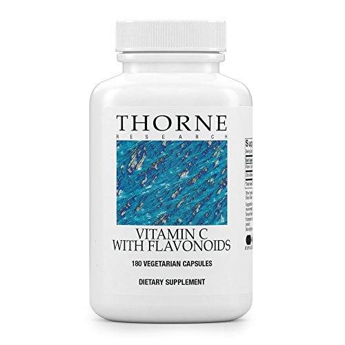 E Thorne Vitamin (VITAMIN C mit Flavonoiden 180 veg. Kapseln TH)