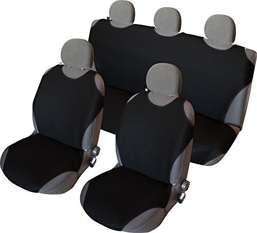 Preisvergleich Produktbild CSC406S - Sitzbezug Set T-Shirt-Design Schwarz