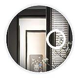 SDK Miroir de Salle de Bains éclairé par LED Miroir Mural Moderne avec lumières Loupe 3X Disponible en 3 Tailles (Taille : 60CM)