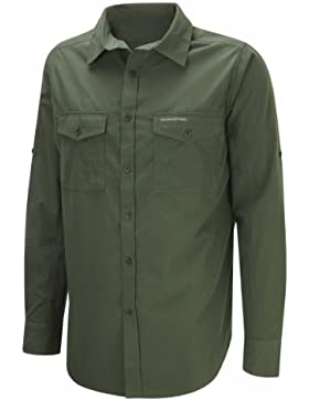Craghoppers camicia a manica lunga Kiwi uomo,XL