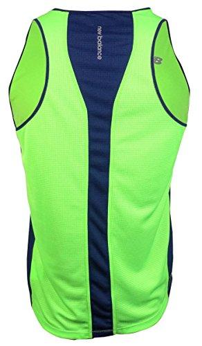 New Balance uomo Big & Tall Ice Tech impatto camicia serbatoio Green Gecko