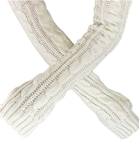 TEBAISE Handschuhe Damen für Frauen Armstulpen für Halber Finger Warme Handschuhe für Frauen Armwärmer für Handy Damen Uhr