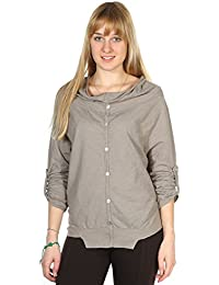 Pineapple Women Shirt Beige SHANONE-Beige