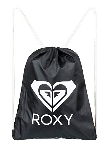 Roxy Damen Light AS A Feather SOLID Backpack, Schwarz (True Black), 47 Centimeters - Roxy Feather