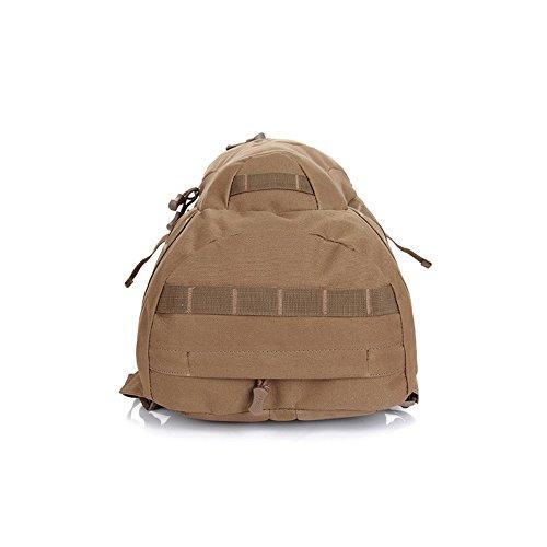 Forepin® Neu Multifunktions Rucksack Sportrucksack für Outdoor Camping Wandern Reise Rucksäcke Schulrucksack Cityrucksack Freizeitrucksack Unisex 20L Braun Braun