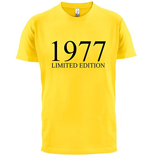 1977 Limierte Auflage / Limited Edition - 40. Geburtstag - Herren T-Shirt - 13 Farben Gelb