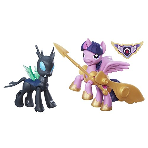 Hasbro B7297ES0 - My Little Pony - Guardians of Harmony Prinzessin Twilight Sparkle und Changeling, Figur