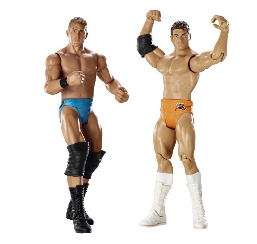 Ted DiBiase & Cody Rhodes Figuren Set - WWE Basis Doppelpacks 8