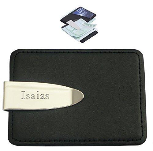 kundenspezifische-gravierte-geldklammer-und-kreditkartenhalter-mit-dem-aufschrift-isaias-vorname-zun