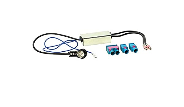 ACV 1521-02 ISO Fakra Antennenadapter f/ür Audi//BMW//VW